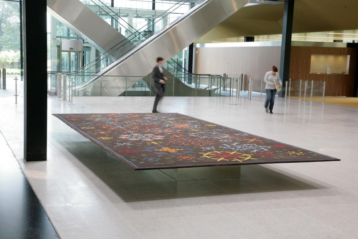 Zwevend tapijt